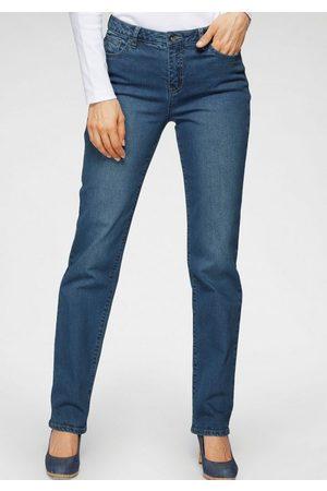 H.I.S Damen High Waist Jeans - Comfort-fit-Jeans »COLETTA NEW HIGH RISE« Nachhaltige, wassersparende Produktion durch OZON WASH - NEUE KOLLEKTION
