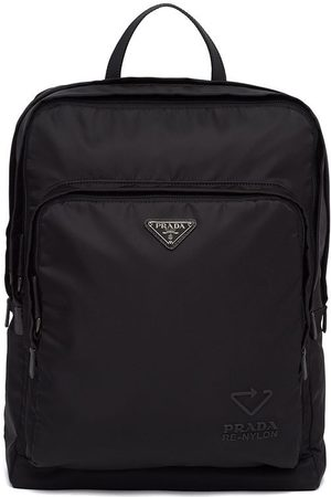 Prada Re-Nylon and Saffiano leather backpack
