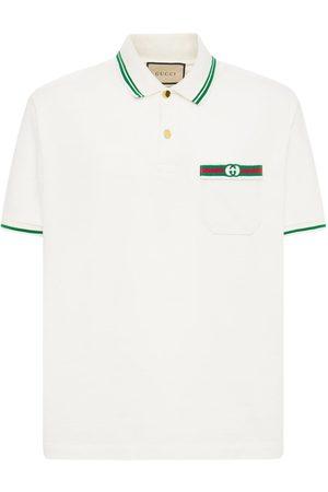 Gucci Polohemd Aus Baumwolle Mit Logo