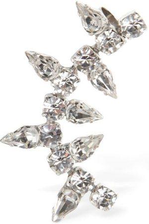 AREA Ohrmanschetten Mit Kristallspitze
