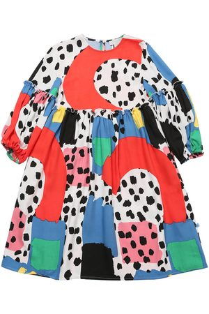 Stella McCartney Bedrucktes Kleid Aus Viskosetwill
