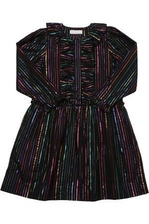 Stella McCartney Kleid Aus Baumwolle Und Lurex