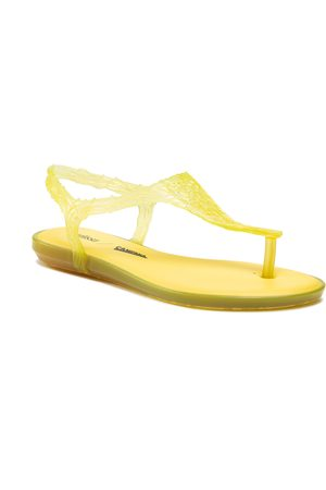 Melissa Campana Flow Sandal Ad 54047 Yellow 32985