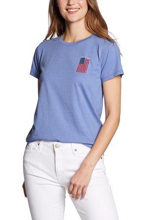 Eddie Bauer Graphic T-Shirt - live your adventure Damen Gr. XS