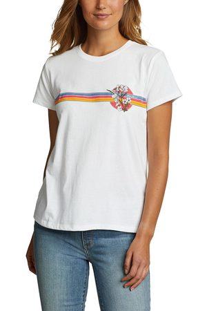 Eddie Bauer Damen T-Shirts, Polos & Longsleeves - T-Shirt - Chest Stripe Damen Gr. XS