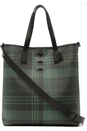 MULBERRY Bryn tartan-check tote bag