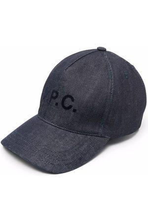 A.P.C. Logo-print cap