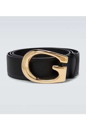 Gucci Gürtel G aus Leder