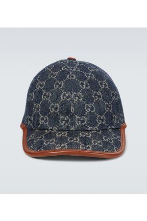 Gucci Baseballcap GG aus Denim