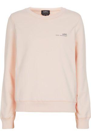 A.P.C. Damen Longsleeves - Sweatshirt Item aus Stretch-Baumwolle