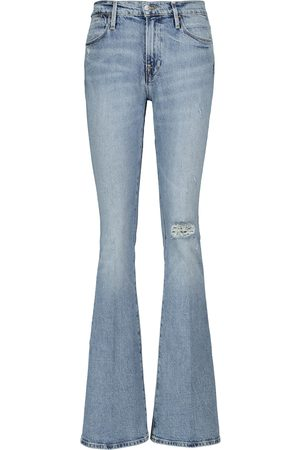 Frame Distressed Jeans Le High Flare