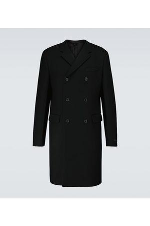 Prada Zweireihiger Mantel aus Wolle
