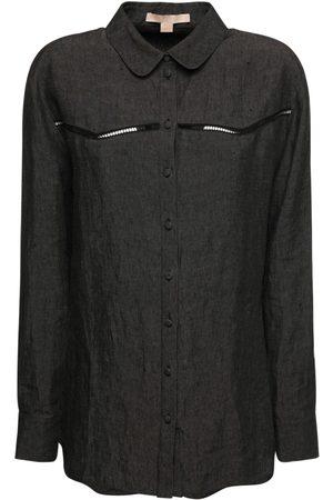 BROCK COLLECTION Hemd Aus Baumwolle Und Leinen