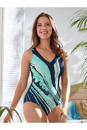 Avena Damen Schwimmanzug gemustert