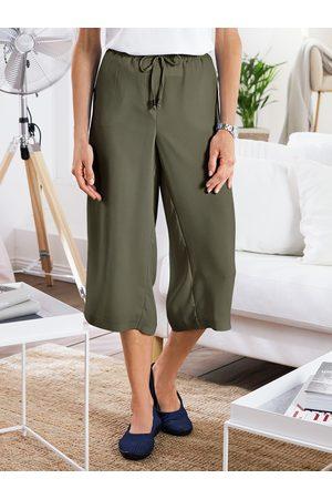 Avena Damen Hosen-Rock Gruen einfarbig