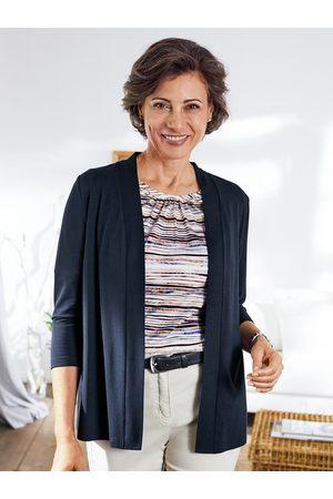 Avena Damen Strickpullover - Damen Wohlfühl-Jersey-Twinset