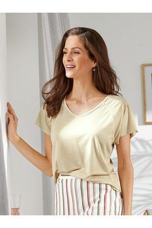 Avena Damen Poloshirts - Damen Seidenweich-Sommershirt Lyocell