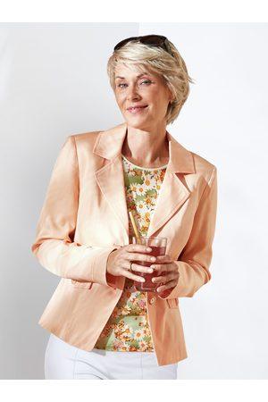 Avena Damen Blazer-Jacke einfarbig