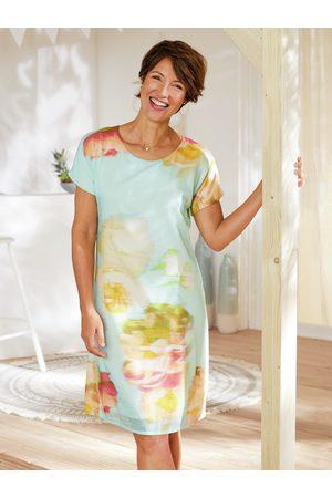 Avena Damen Kleider - Damen Kleid Blumenaquarell