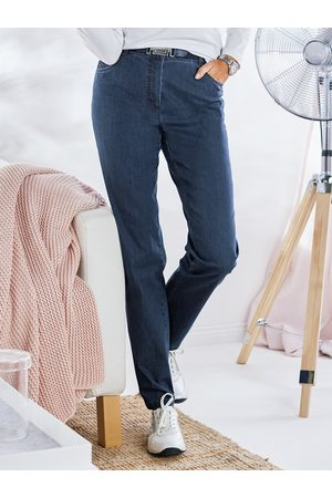 Avena Damen Cropped - Damen Coolmax-Jeans Komfortbund