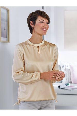 Avena Damen Seiden-Powerstretch-Bluse