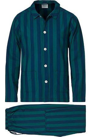Nufferton Herren Schlafanzüge - Uno Striped Pyjama Set Blue/Green