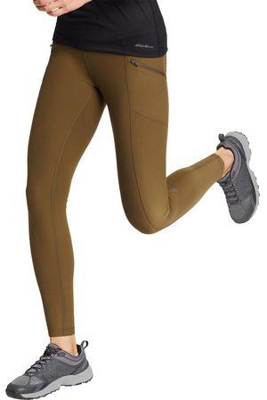Eddie Bauer Trail Tight Leggings - High Rise Damen Grün Gr. XS
