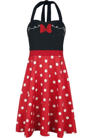 Micky Maus 50s Bounding Micky Mittellanges Kleid multicolor