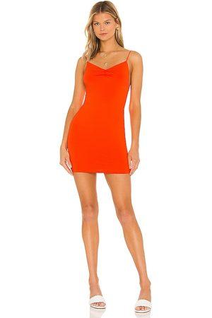 superdown Dia Ruched Mini Dress in . Size XXS, XS, S, M, XL.