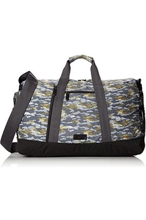 LeSportsac Herren Town Carrier Duffle Bag, Grau (Sketchy Camo)