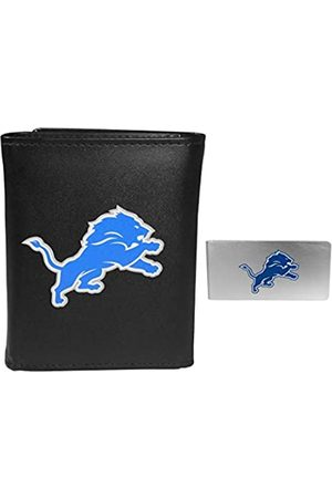 Siskiyou Sports NFL Detroit Lions Herren-Geldbörse und Geldclip, dreifach faltbar