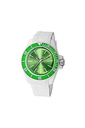 Radiant Herren Uhren - Herren Analog Quarz Uhr mit Kautschuk Armband RA166608_Verde