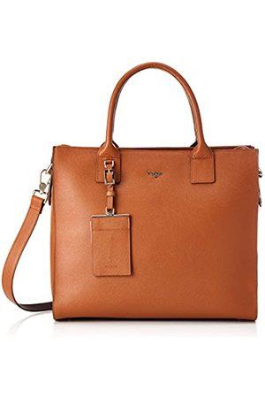 Picard Damenshopper in der Farbe Cognac/ und aus Leder, Damenhandtasche mit Henkel, verstellbaren Schultergurt
