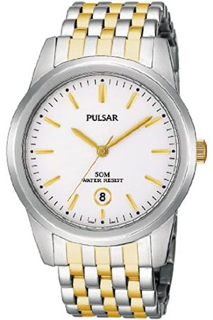 Pulsar Herren Uhren - Herren-Armbanduhr Analog Edelstahl PG8121X1