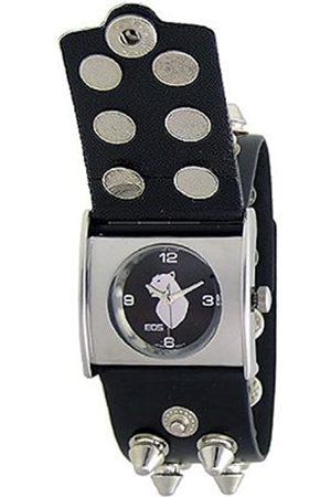 EOS Uhren - New York Unisex-Armbanduhr Gattika 62LBLK