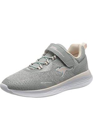 KangaROOS Unisex-Kinder KQ-Fleet EV Sneaker, Vapor Grey/Frost Pink 2063
