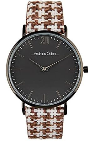 Andreas Osten Damen Uhren - AndreasOstenUnisexAnalogAutomatikUhrmitEdelstahlArmbandAO-233