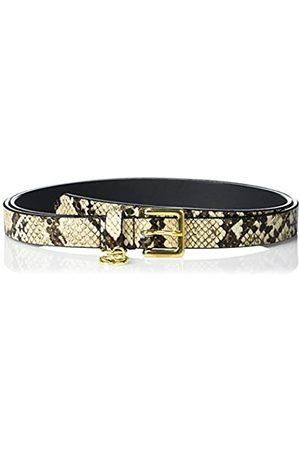 Emporio Armani Damen Gürtel - Damen Leather Belt with Snake Effect Gürtel