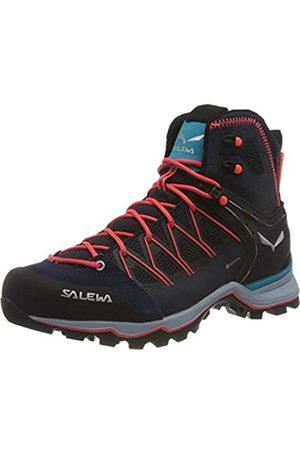 Salewa Damen WS Mountain Trainer Lite Mid Gore-TEX Trekking- & Wanderstiefel, Premium Navy/Blue Fog