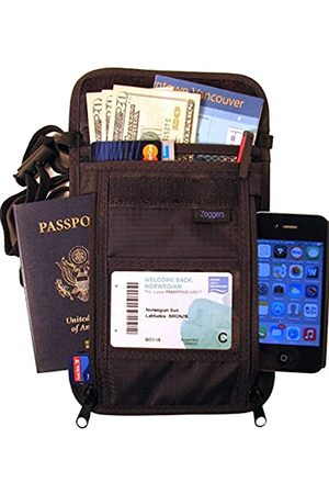 Zoggers RFID Travel Wallet - Largest Neck Pouch - Fits Any Size Cell Phone- Cruise - Keep Valuables Safe