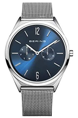 Bering Unisex Analog Quarz Ultra Slim Collection Armbanduhr mit Edelstahl Armband und Saphirglas 17140-007