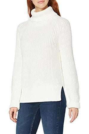 MERAKI Damen Strickpullover - RA1143 Pullover, Off-White (Cream)