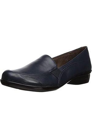 Natural Soul Damen Carryon Loafer flach, (Navy)