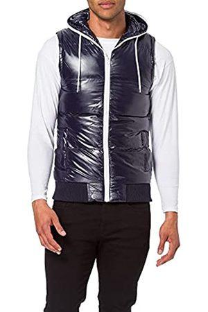 Urban classics Herren Hooded Bubble Vest Outdoor Weste