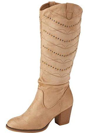 Joe Browns Damen Stiefel - Damen Portobello Studded Boots Mode-Stiefel