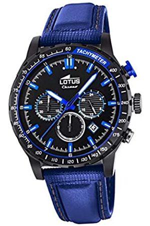 Lotus Herren Uhren - Herren Analog Quarz Uhr mit Leder Armband 18588/2