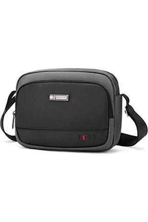 BAIGIO Herren Umhängetaschen - Herren Kleine Kuriertasche Crossbody Tasche Reisetasche Casual Sling Pack Geldbörse Reise Handtaschen