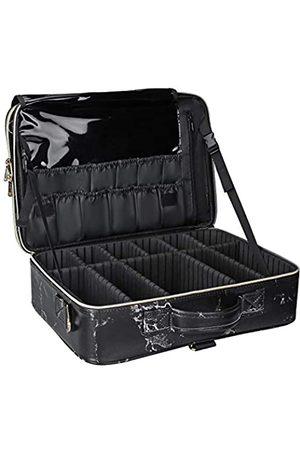 TANTO Damen Reisetaschen - Marmor-Make-up-Tasche, Reise-Make-up-Tasche, Marmor-Kosmetiktasche, Make-up-Tasche für Frauen, Pinsel-Aufbewahrungsbox, Organizer