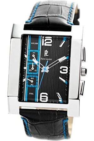 Pierre Lannier 253B183 Herren-Armbanduhr, Quarz, analog, schwarzes Zifferblatt