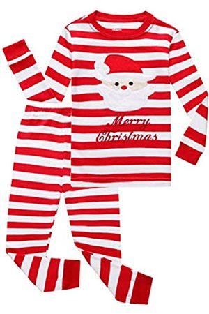 Family Feeling Zweiteiliges Pyjama-Set für kleine und große Mädchen